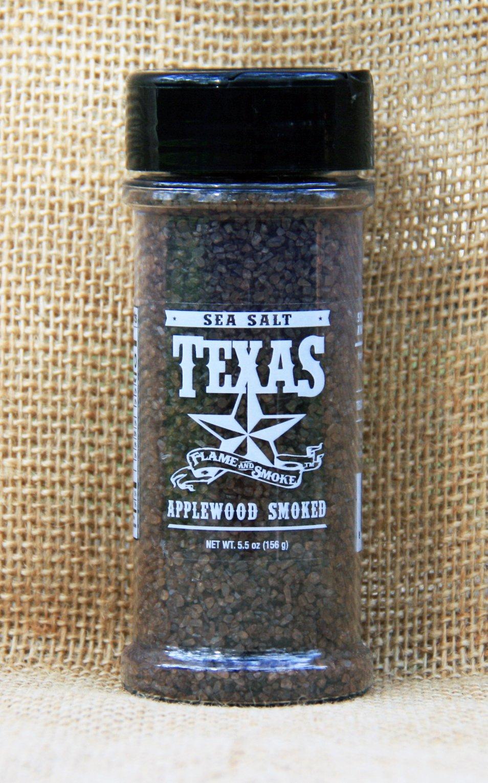 Applewood Smoked Sea Salt In Grinders Or Shakers Texas