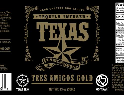 Tres Amigos Gold BBQ Sauce