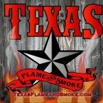 Texas Flame and Smoke Logo